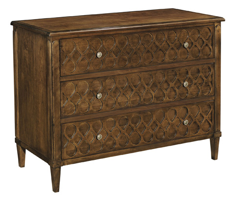 Image of Murano Chest with Wood Top