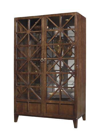Image of Cleo Glass Shelf Cabinet