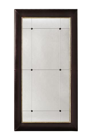 Image of Dauphine Upholstered Floor Mirror