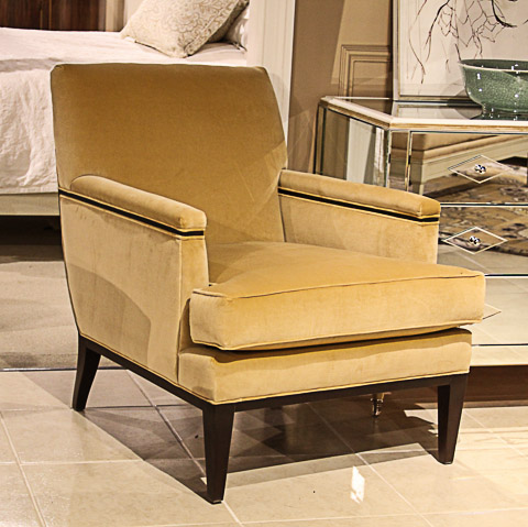 Image of Gold Alexander Tightback Chair