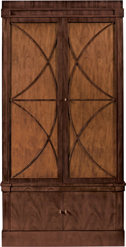 Hickory Chair - Artisan Grand Cabinet Deck with Wood Doors - 147-21