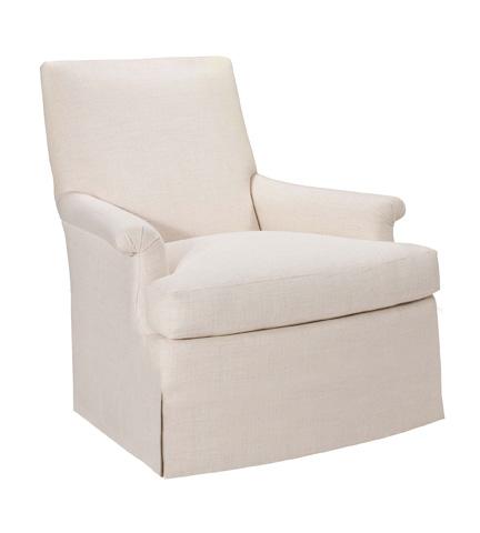 Hickory Chair - Virginia Skirted Swivel Chair - 1530-27