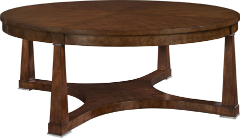 Hickory Chair - Bowman Cocktail Table in Mahogany - 183-71