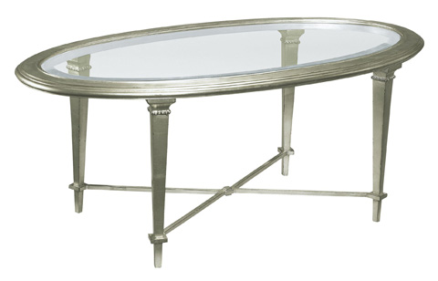 Hickory Chair - Bristol Oval Cocktail Table - 2579-20