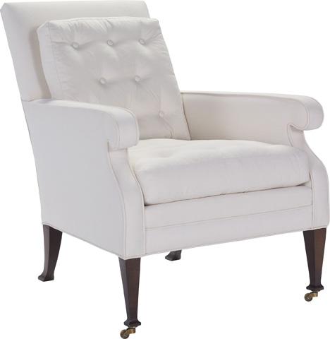 Hickory Chair - Everett Button Lounge Chair - 3306-24