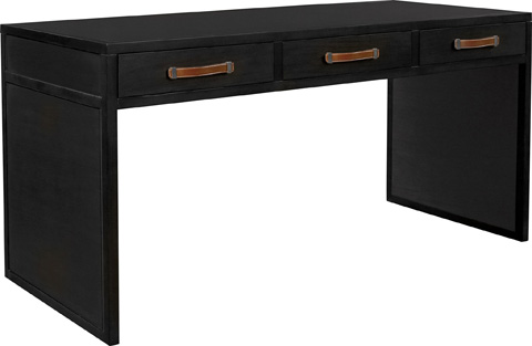 Hickory Chair - Harrison Three Drawer Writing Desk - 5393-70