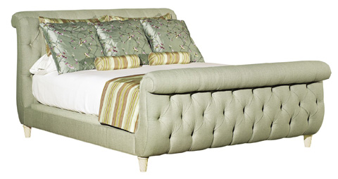 Hickory Chair - Somerset Queen Bed with Footboard - 5460-10