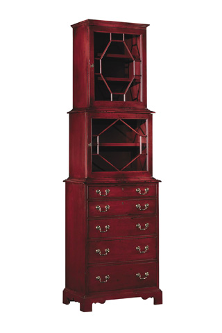 Hickory Chair - Park Avenue Tall Cabinet - 6249-70