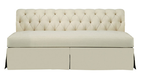 Hickory Chair - Marquette Made To Measure Armless Sofa - 706-52-S