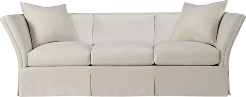 Hickory Chair - Pershing Dressmaker Sofa - 708-06