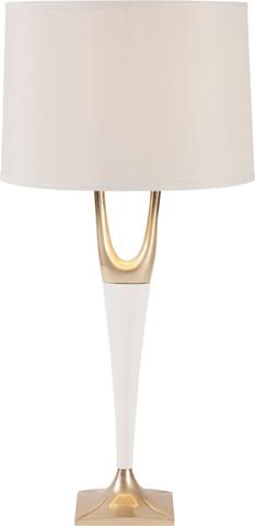 Hickory Chair - Cream Foy Lamp - 8000-01