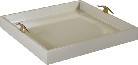 Hickory Chair - Jan Square Tray - 8020-03