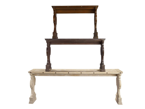 Hickory Chair - 17th Century Italian Made To Measure Console - 9591-51