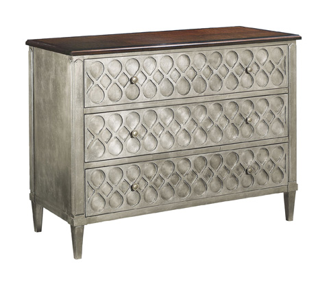 Hickory Chair - Murano Three Drawer Chest - 9772-70