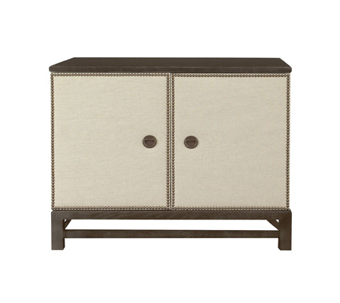 Hickory Chair - Remy Two Door Upholstered Cabinet - 9571-70/9571-70