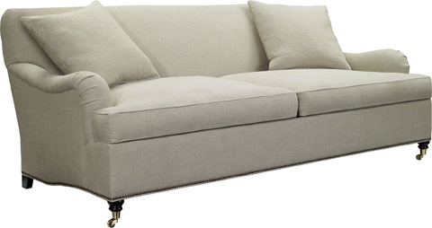 Hickory Chair - Silhouettes English Arm Sofa - 4122