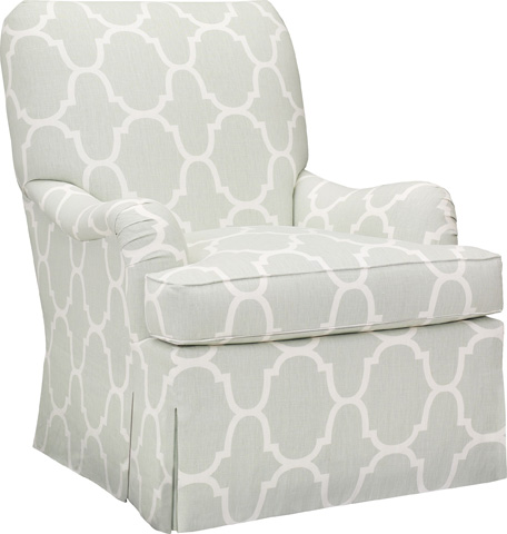 Hickory Chair - Silhouettes English Arm Chair - 4200