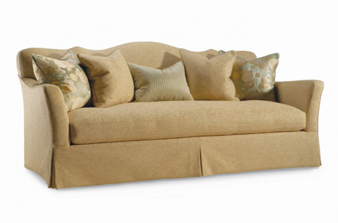 Hickory White - Camel Back Sofa - 4877-05