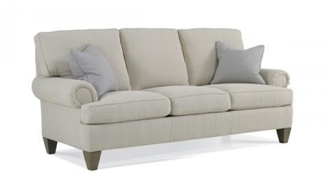 Hickory White - Wilton Court Sofa with Architectural Leg - 021LW05A