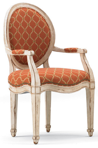 Image of Round Back Arm Chair