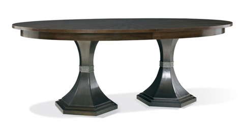 Image of Paxton Double Pedestal Dining Table