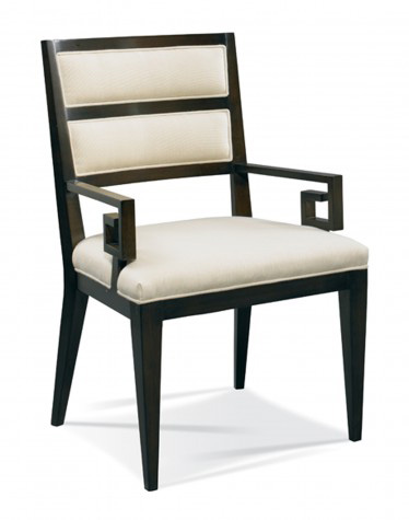 Hickory White - Greek Key Arm Chair - 241-61