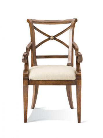 Image of X-Back Arm Chair