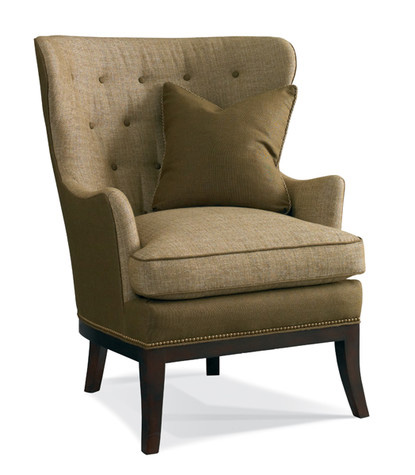 Hickory White - Upholstered Wing Chair - 4240-01