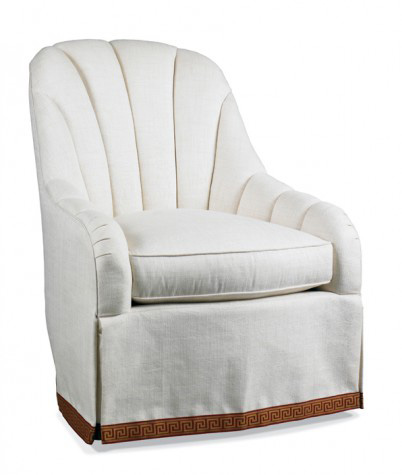Hickory White - Channel Back Chair - 4285-01