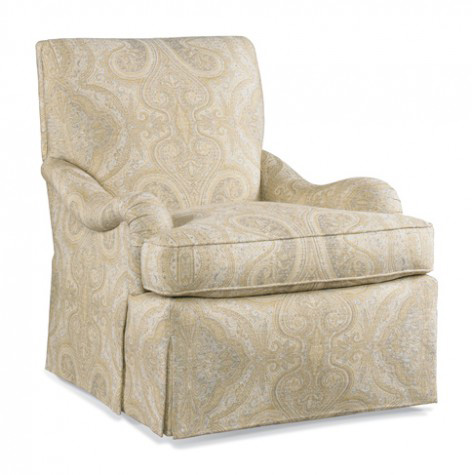 Image of Club Chair with English Arms