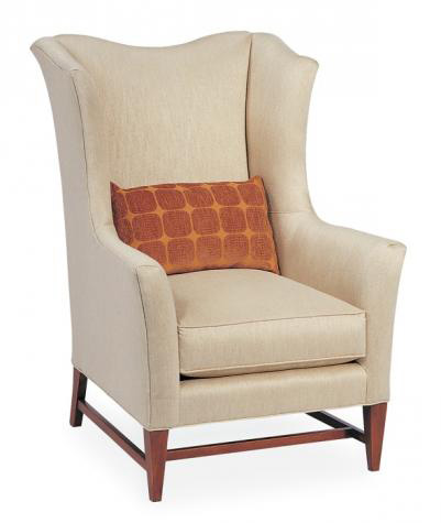 Hickory White - Upholstered Wing Chair - 4684-01