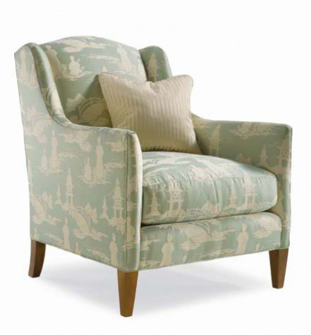 Image of Club Chair with Tight Back