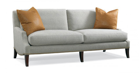 Image of Slipper Arm Sofa