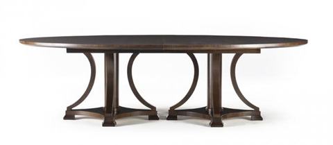 Hickory White - Oval Dining Table - 650-11