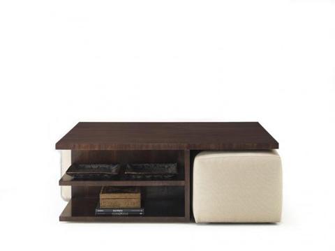 Hickory White - Rectangular Cocktail Table - 653-12