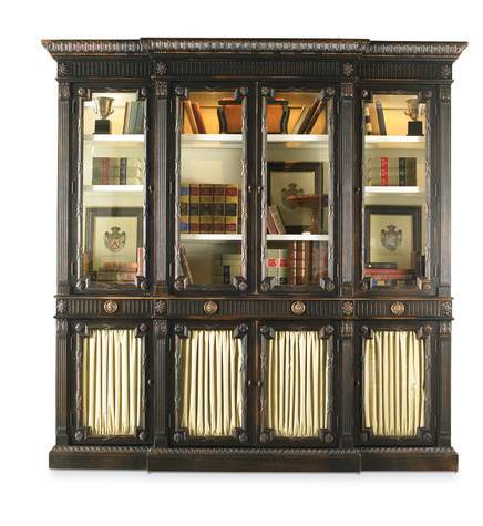 Image of China Cabinet with Glass Doors