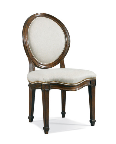 Hickory White - Oval Back Side Chair - 861-62