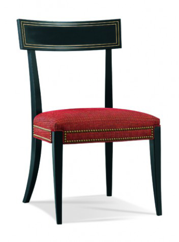Hickory White - Klismos Side Chair - 901-66