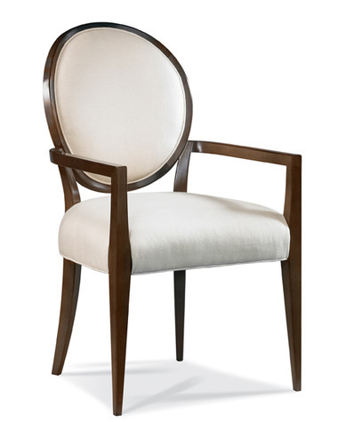 Image of Oval Back Arm Chair