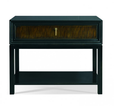 Hickory White - Greg Single Drawer Side Table - 107W