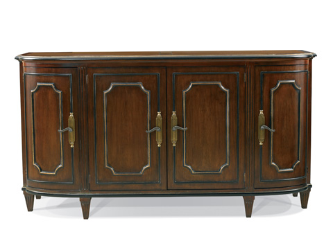 Image of Francesca Buffet with Wood Top