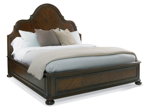 Image of Francesca Panel King Bed