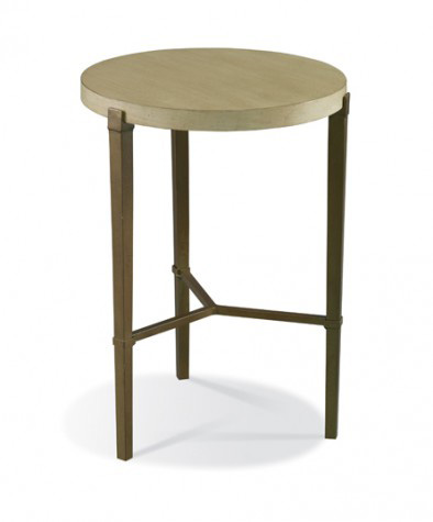 Hickory White - Bailey Spot Table in Gold - 903-26G