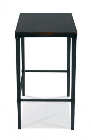 Hickory White - Bailey Rectangular Side Table in Slate - 903-27S