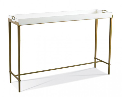Image of Bailey Console in Gold
