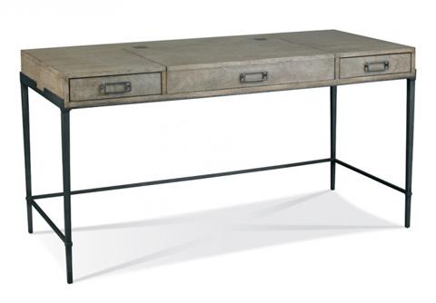 Image of Bailey Desk in Slate