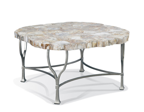 Image of Gobi Petrified Wood Cocktail Table