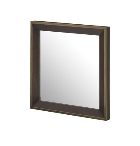 Highland House - Meryl Bunching Mirror - HH25-233-BR