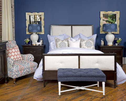 Image of Lana Queen Upholstered Bed
