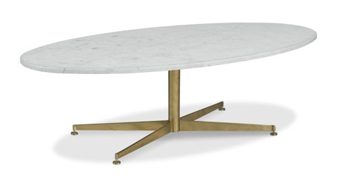 Highland House - Montauk Oval Cocktail Table - HH19-601-AS
